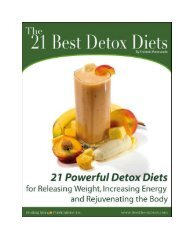 The 21 Best Detox Diets - Vitality by Jenni