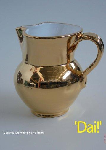 Ceramic jug with valuable finish - Tuttoattaccato
