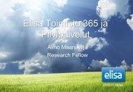 Elisa Pilvipalvelut - EnterpriseCloud yleinen - Hetky