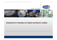 Infotainment & Telematics for Hybrid and Electric mobility - Viajeo.eu