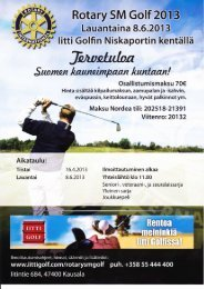 Rotary SM golf 2013.pdf - Turunmaan Rotaryklubi