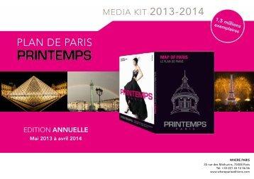 PlAN DE PArIs - Where Paris