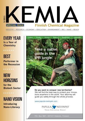 Chemical Industry - Kemia-lehti