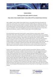Nové typy zeolitů najdou uplatnění v průmyslu - Odbor mediální ...