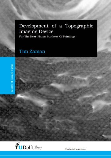 Development of a Topographic Imaging Device - KABK