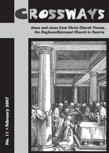 Crossways February 2007 - Christ Church Vienna, Austria