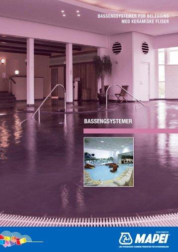 Bassengsystemer NOR - Mapei
