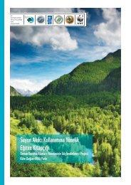 Suyun Akılcı Kullanımına Yönelik Eğitim Kitapçığı - Küre Dağları Milli ...