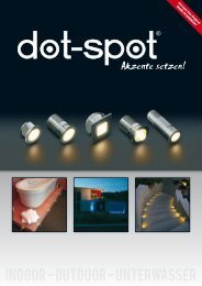 Indoor - Outdoor - Unterwasser - dot-spot