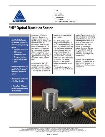 """HT"" Optical Transition Sensor - Key Industrial"