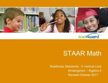 STAAR Math - Manor Independent School District