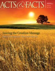 Download July 2008 PDF - Institute for Creation Research