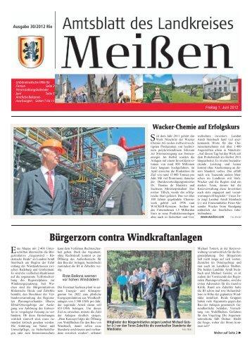 Amtsblatt 06/2012 vom 01.06.2012 [Download ... - Landkreis Meißen