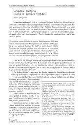Gruzdžių bažnyčia - Lietuvos lokaliniai tyrimai