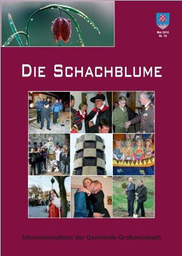 Theater des Chores Schachblume Großsteinbach - Gemeinde ...