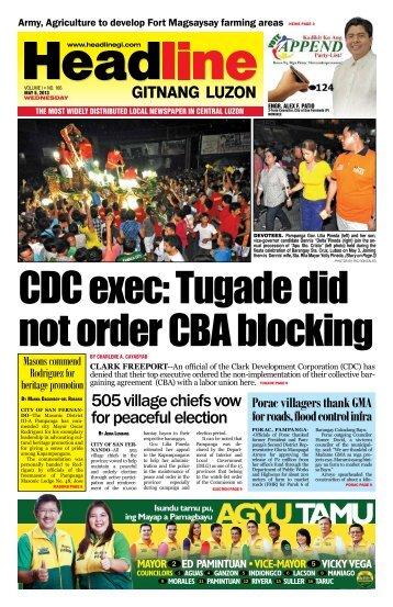 AGYU TAMU - Headline Gitnang Luzon