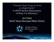 Tracking Water Usage in Texas is a High Priority - North Texas ...