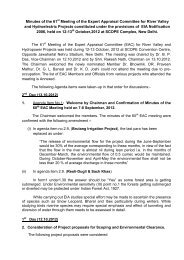 Minutes of the 61st Meeting of the Expert Appraisal ... - eRc India