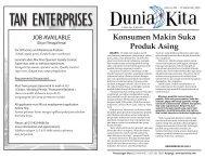 Edisi 204 - 12 September 2009 - Dunia Kita