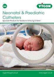 Neonatal & Paediatric catheters - Vygon (UK)