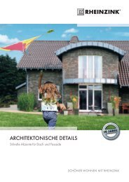 architektONiSche detailS - DDH