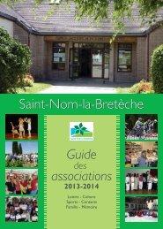 Guide des associations 2013-2014 - Saint Nom la Bretèche