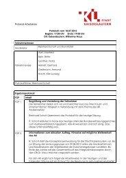 Protokoll vom 18.07.2012 - Netzwerk Migration Integration