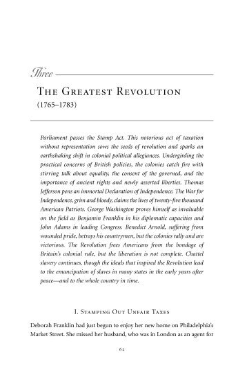 The Greatest Revolution - Last Best Hope