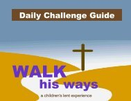 Walk His Ways Kids - Ministry-To-Children