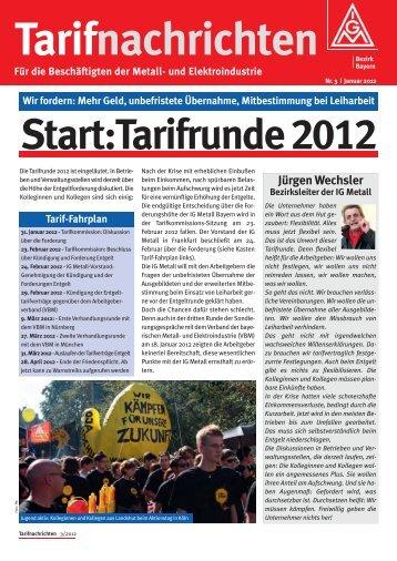 Januar 2012 - IG Metall Bayern
