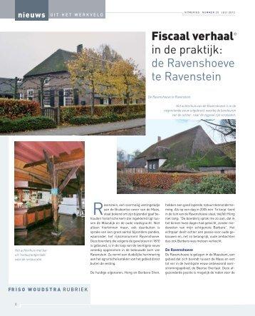 Frits Woudstra / Res Nova - vakbladvitruvius.nl