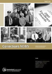 August Corrections News - Queensland Corrective Services ...