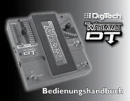 Bedienungshandbuch - Digitech