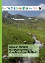 RAPPAM Raporuna buradan ulaşabilirsiniz - Küre Dağları Milli Parkı
