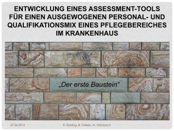 Der erste Baustein - Hanse Institut Oldenburg