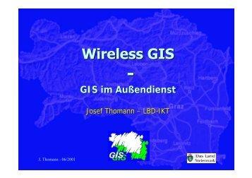 Wireless GIS