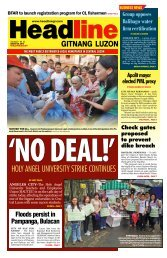 holy angel university strike continues - Headline Gitnang Luzon