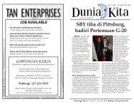Edisi 206 - 26 September 2009 - Dunia Kita