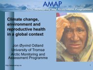 Climate change, environment and reproductive health in a global ...