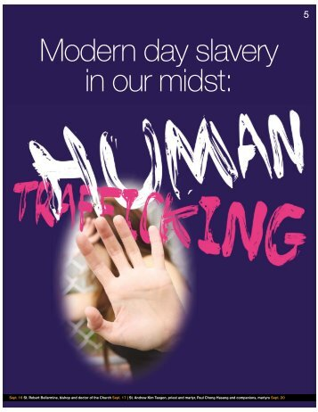 Modern day slavery in our midst: - Florida Catholic Conference