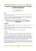 Yatırım Projelerinin Bilgisayar Programı ile Değerlendirilmesi - Page 6