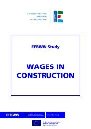 WAGES IN CONSTRUCTION - Construction Labour Research
