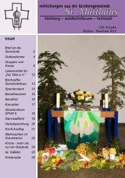 226. Ausgabe - Oktober-November 2013 - Evangelisch-Lutherische ...