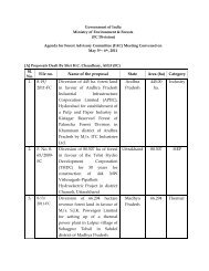 Sl. No. File no. Name of the proposal State Area (ha ... - eRc India