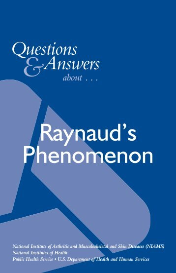Raynaud's Phenomenon - APS Foundation of America, Inc