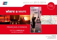 plan de paris - chinois - Where Paris