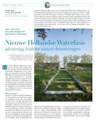 Nieuwe Hollandse Waterlinie - vakbladvitruvius.nl