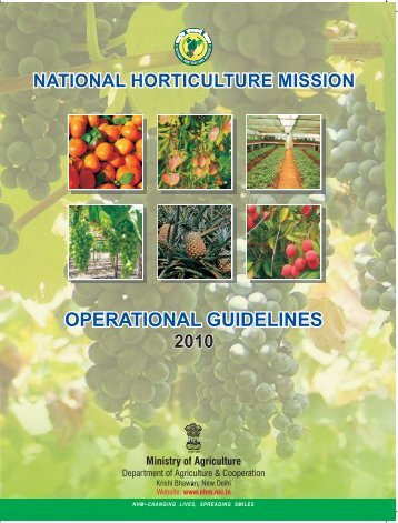 Guideline in English - National Horticulture Mission