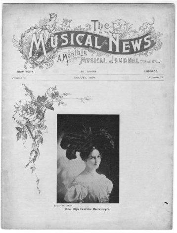 Miss Olga Beatrice Bredemeyer. - Washington University in St. Louis