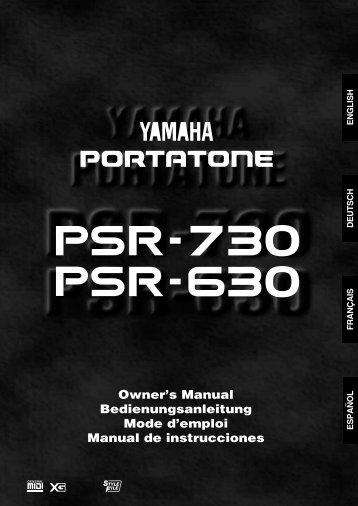 Einstellen der - Yamaha